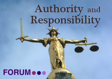 Authority and Responsibility